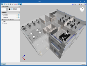 Open BIM Office Furniture