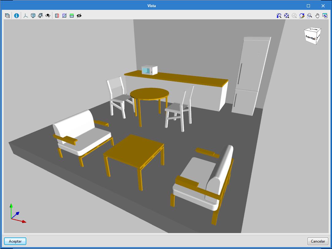 Open BIM Office Furniture. Personalizzazioni di scaffali e banconi